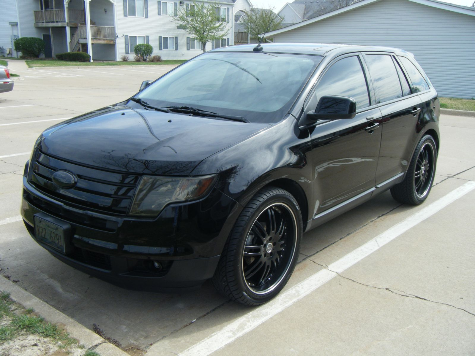 Blacked Out Ford Explorer >> Ford Edge Blacked Out   Autos Post