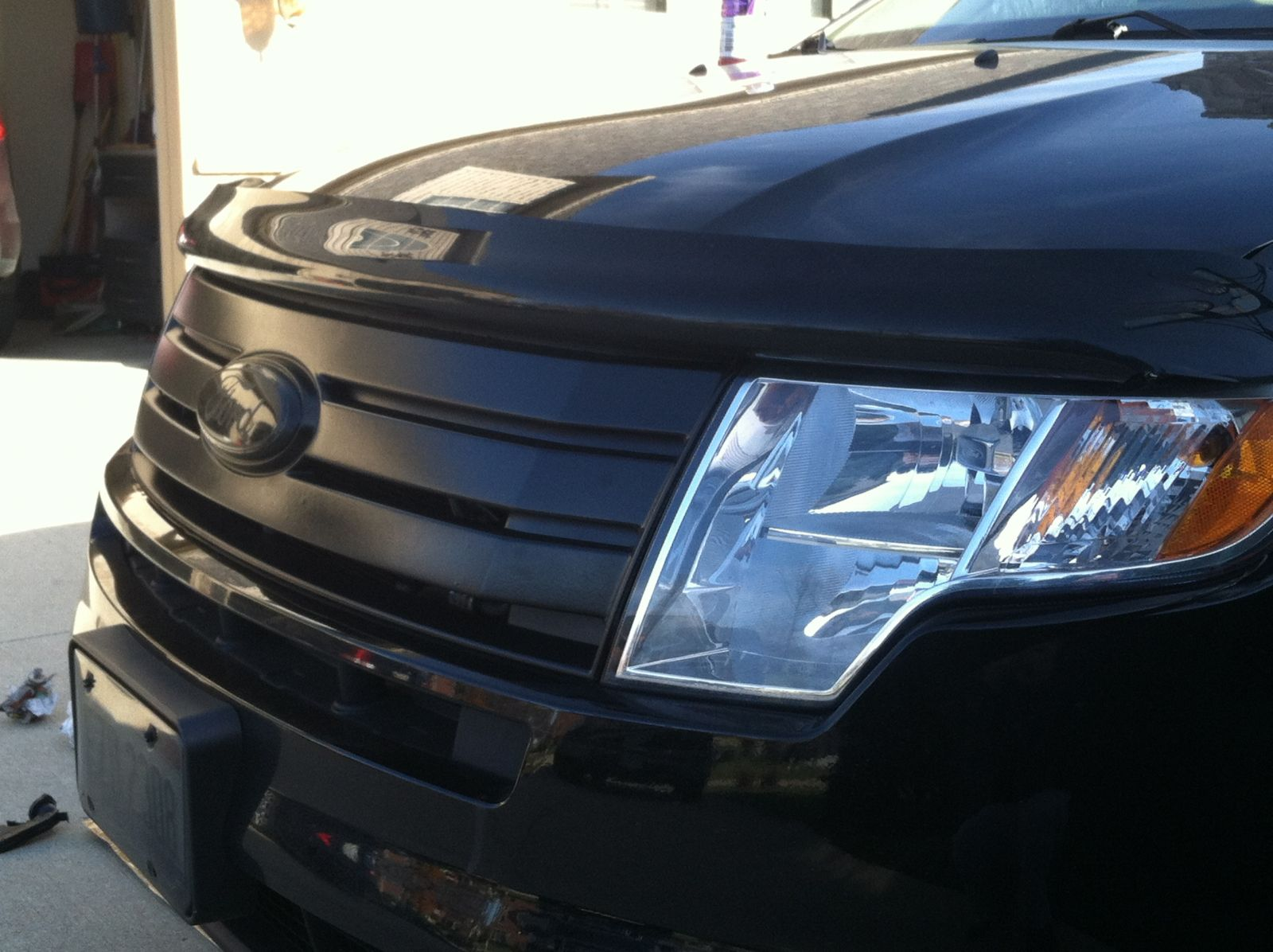 All Black Grille