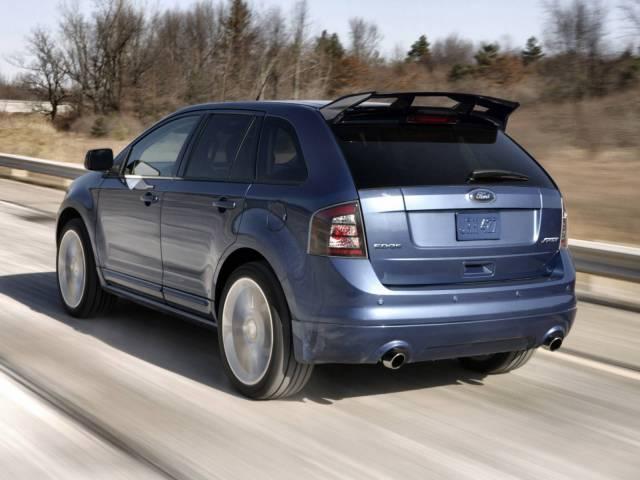 Ford Edge Sport  Focus Rs Spoiler