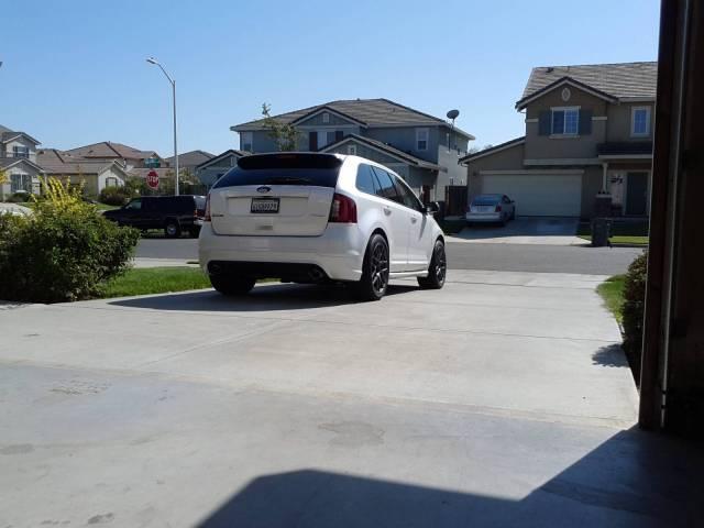 Lowered Ford Edge