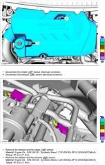 2015 Edge R&R LH Camshaft Position Sensors