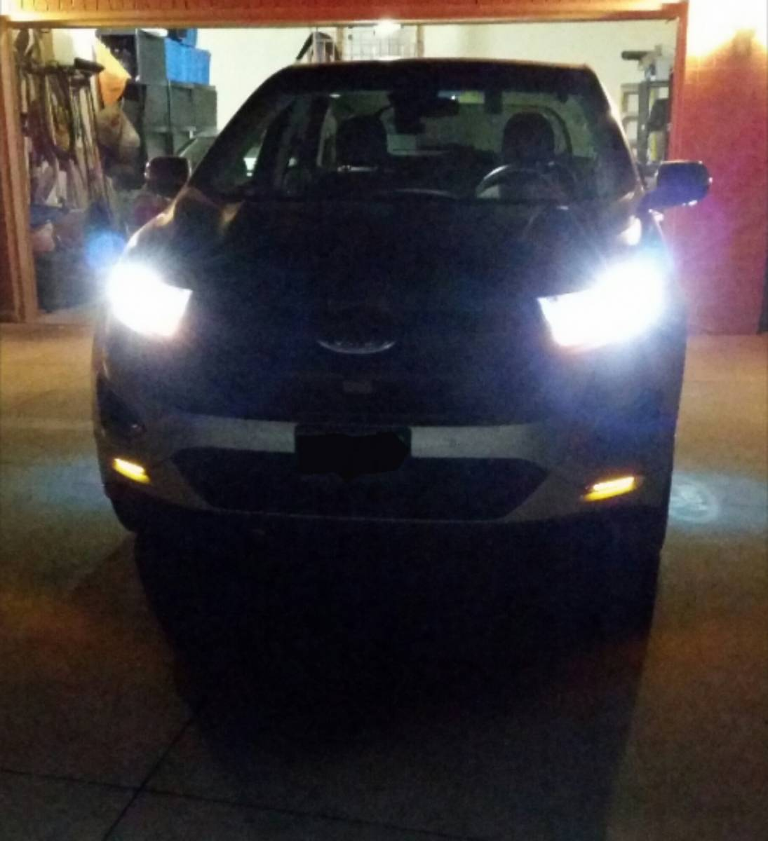 Amber Led's in lower bumper