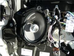 Infinity Kappa 682.7cf Speaker install - Front Door #3