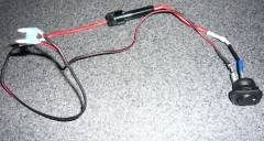 Custom Internal Light Shut Off Switch - wiring
