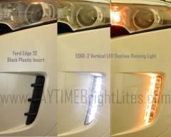 EDGE SE Blank Bumper Cover vs. EDGE-2 LED DRL