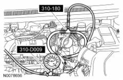 2012 Edge Fuel Pressure Gauge Installed At Fuel Rail