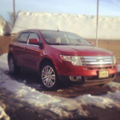 2008 FORD EDGE LIMITED SNOW TIME!