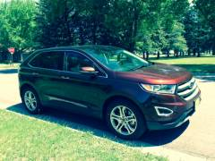 2015 FORD EDGE AWD TITANIUM 'BRONZE FIRE'