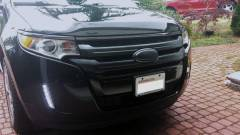 PlastiDip cross bars of grille and Ford emblem