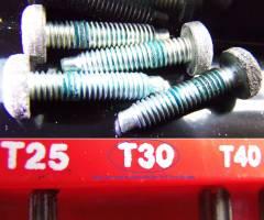T30 Torx Screws Attaching TPS To TB
