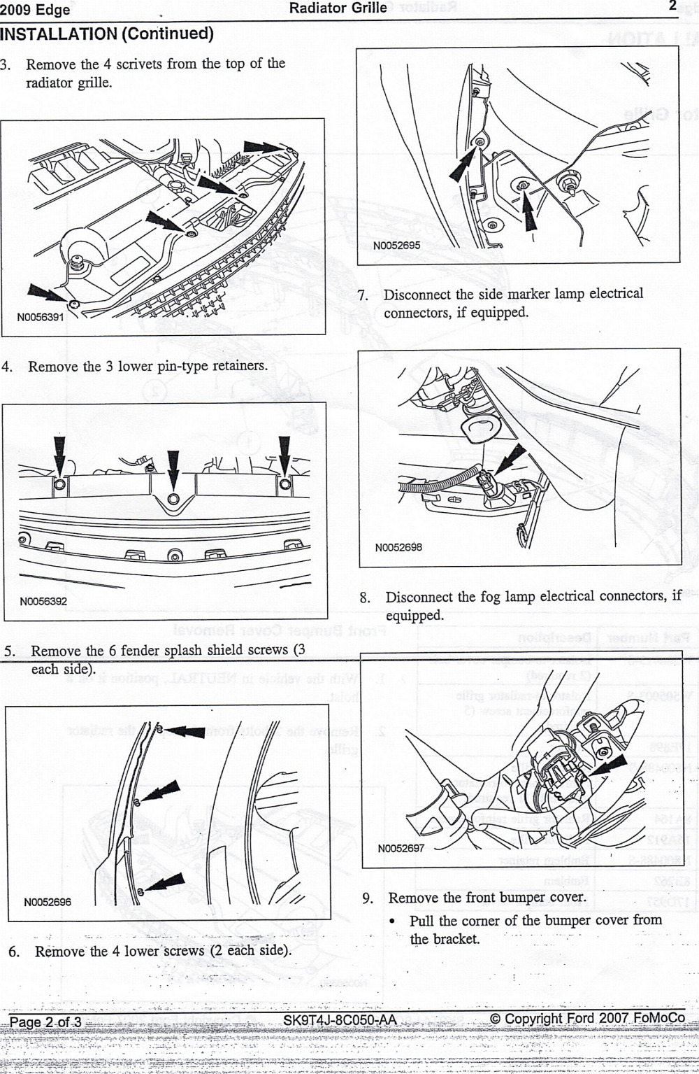 2007 Lincoln Mkz Headlight Wiring Diagram