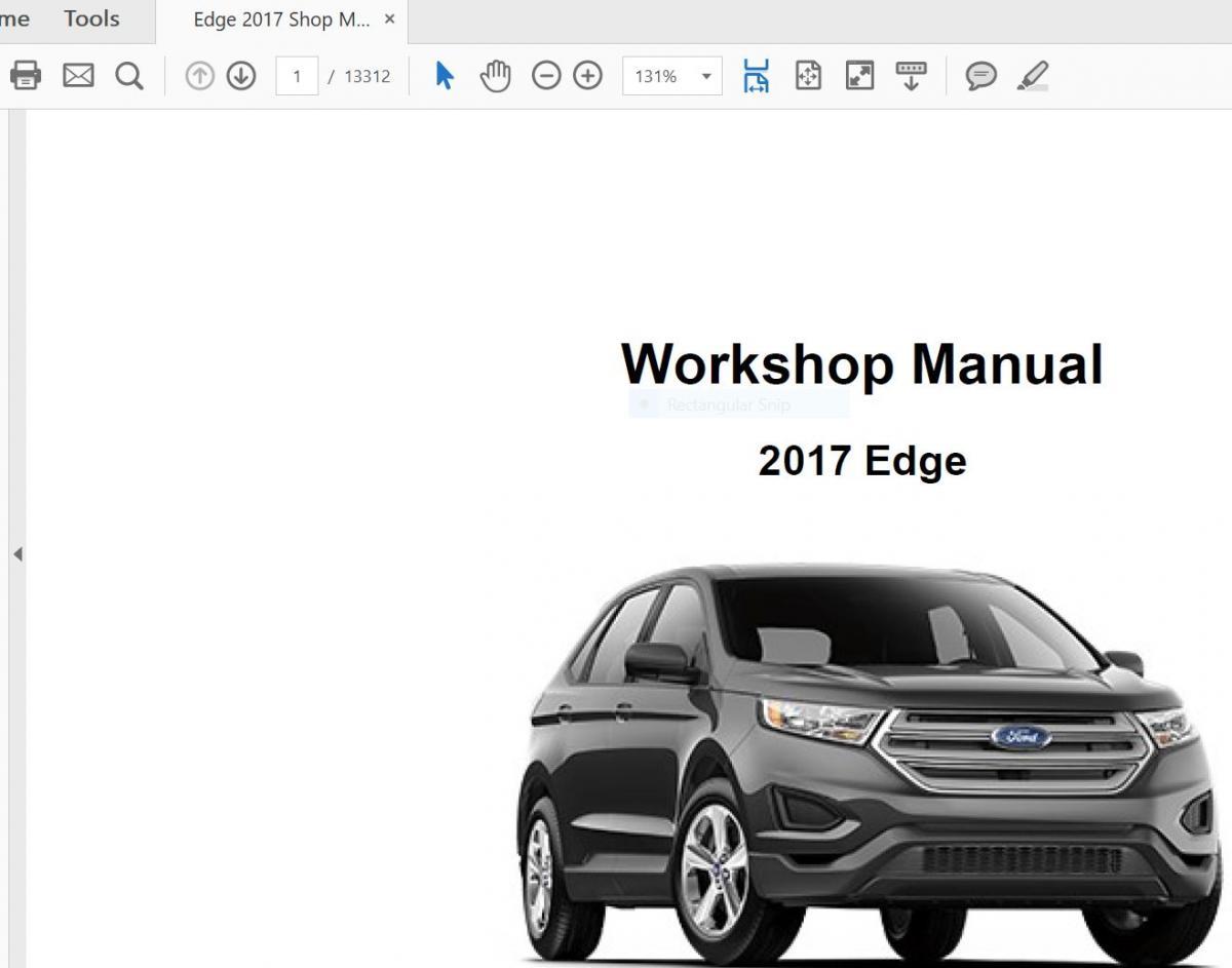 2018 f150 shop manual