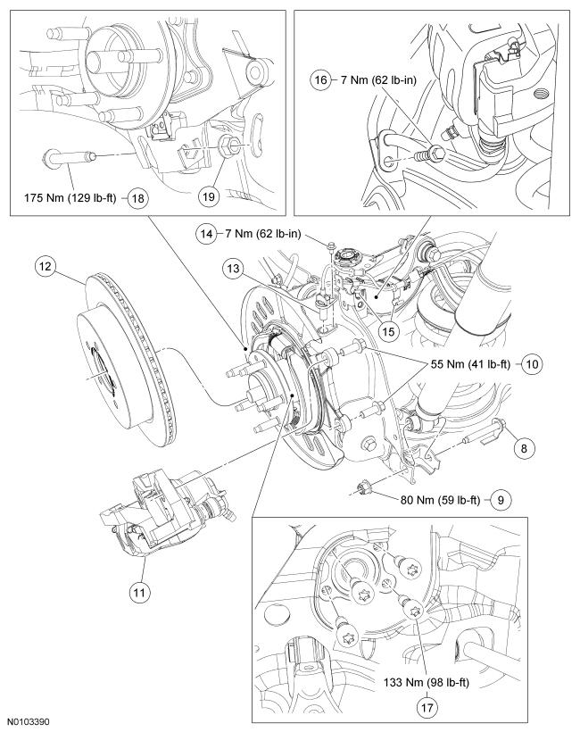 Rear Wheel Hubbearing Torque Specs
