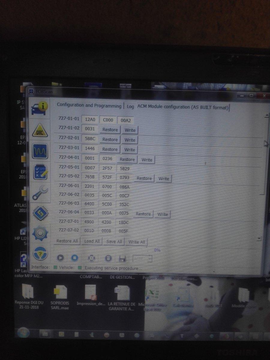 Forscan Module Programming