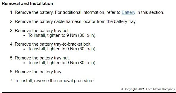 Battery and Tray Removal - 2013 Edge SEL Instructions.jpg