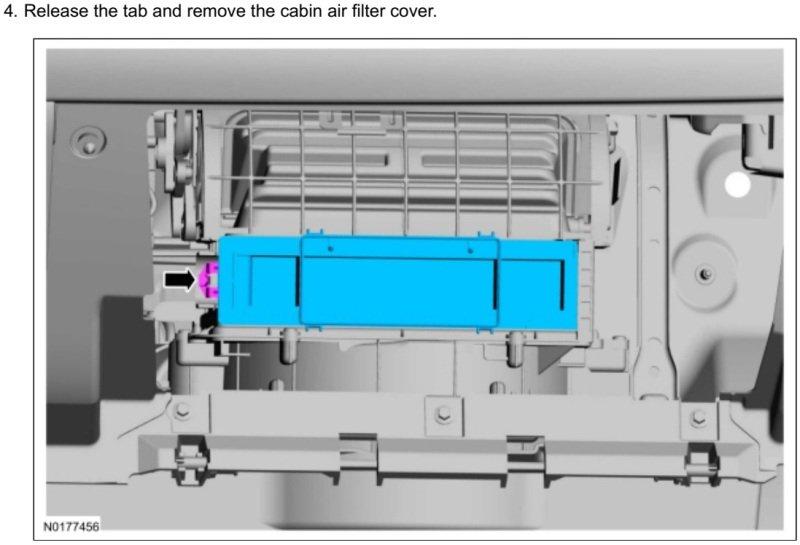 GEN-1 2015 Edge-MKX Cabin Air Filter Cover.jpg